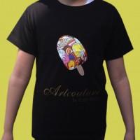 Artcouture T-Shirt, Kinder, schwarz