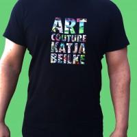 Artcouture T-Shirt, Herren, schwarz