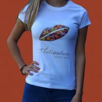 Artcouture T-Shirt, Damen, weiß